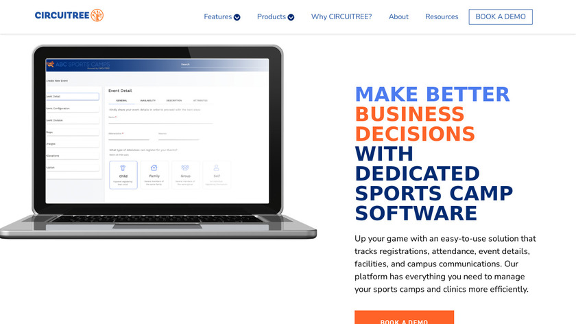 ABC Sports Camps Landing Page