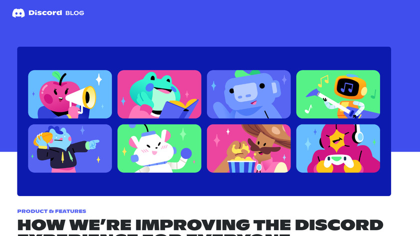 Discord Store Landing Page