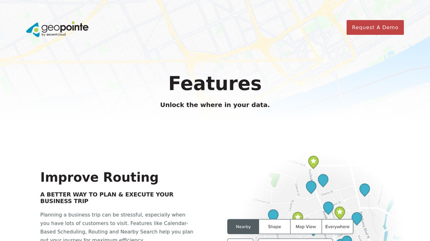 Geopointe Landing Page