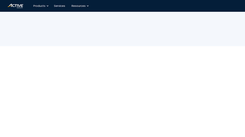 ACTIVE Camp Manager Landing Page