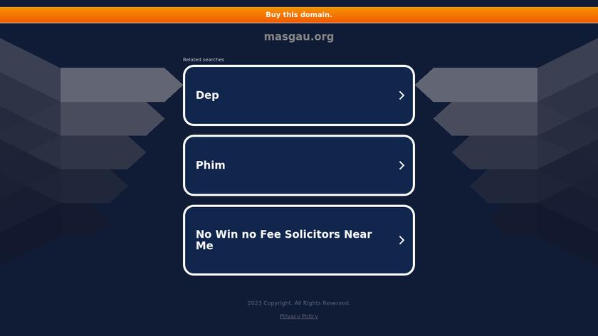 MASGAU Landing Page