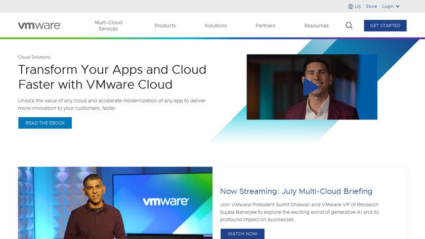 CloudVelox Landing Page