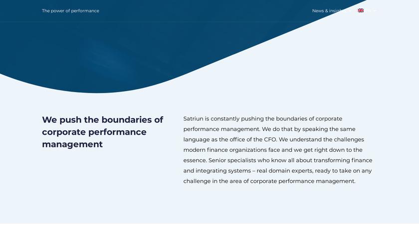 Satriun Group Landing Page