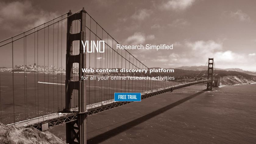 YUNO Landing Page