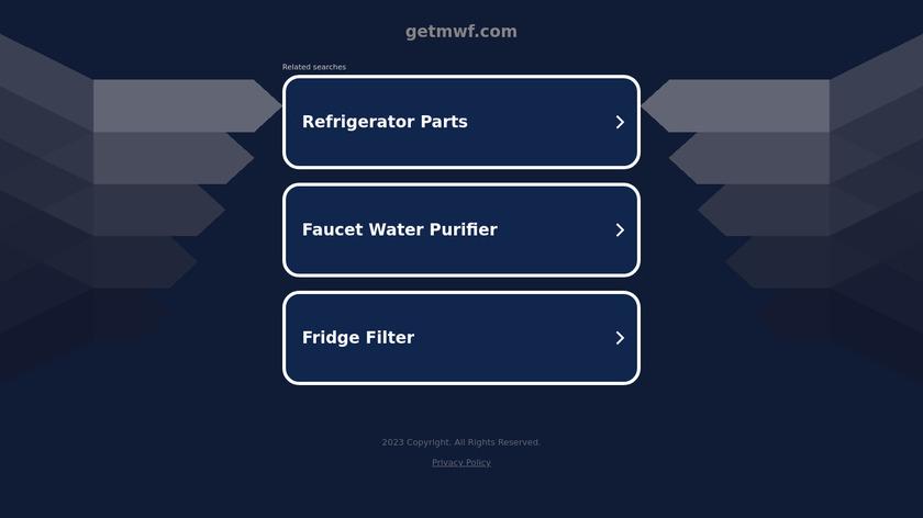 Microsoft Web Framework Landing Page