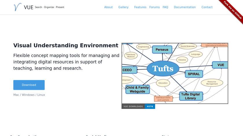 Visual Understanding Environment Landing Page