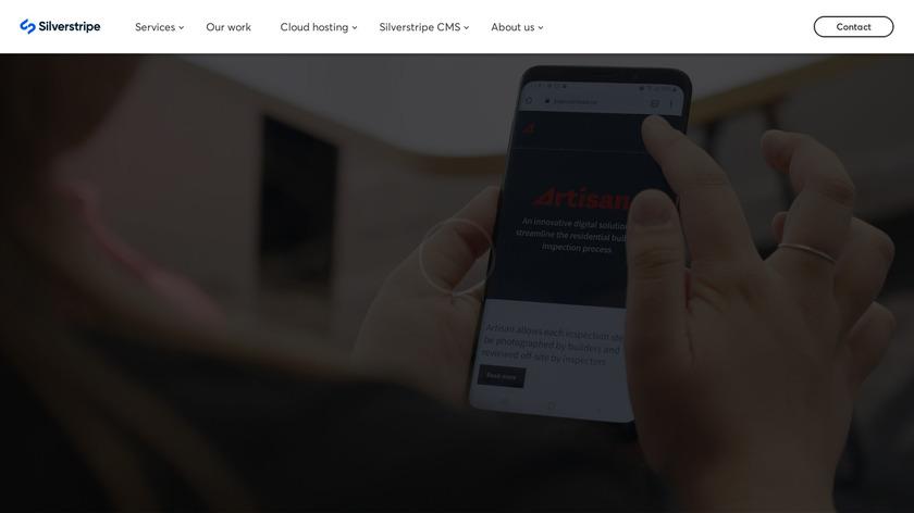 SilverStripe Landing Page