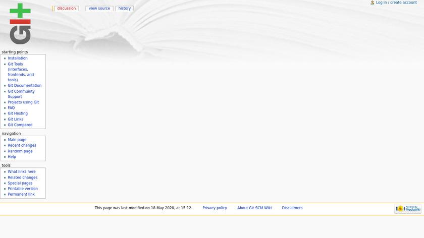 Gitweb Landing Page