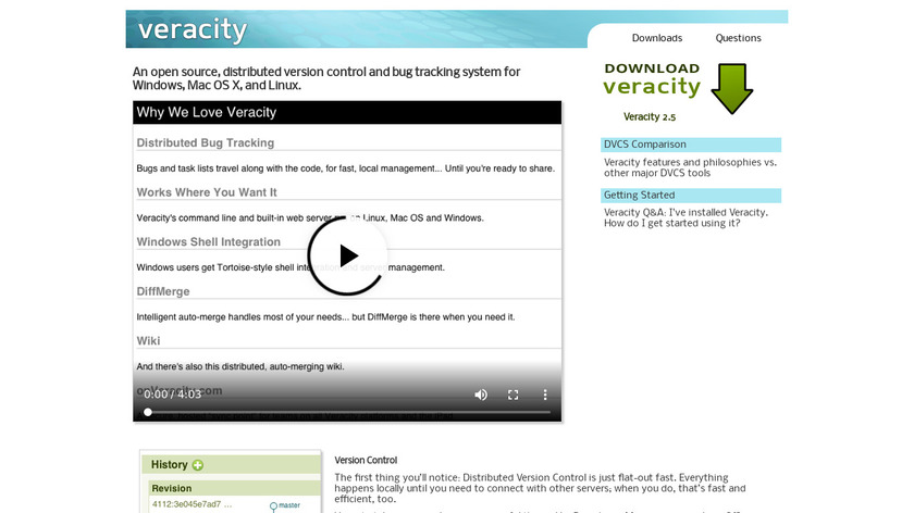 Veracity Landing Page