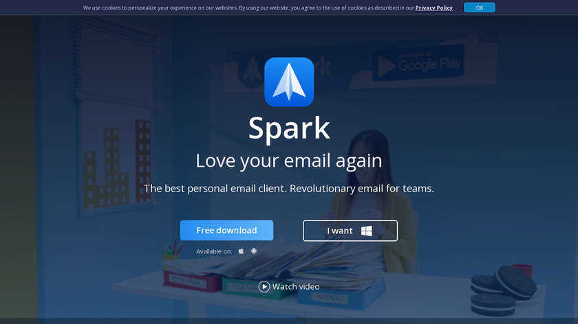 Spark Landing Page
