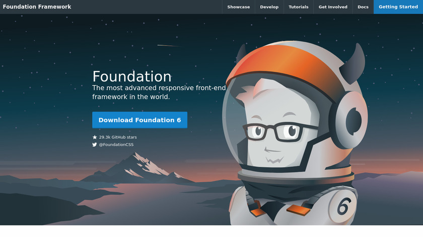 Foundation Landing Page