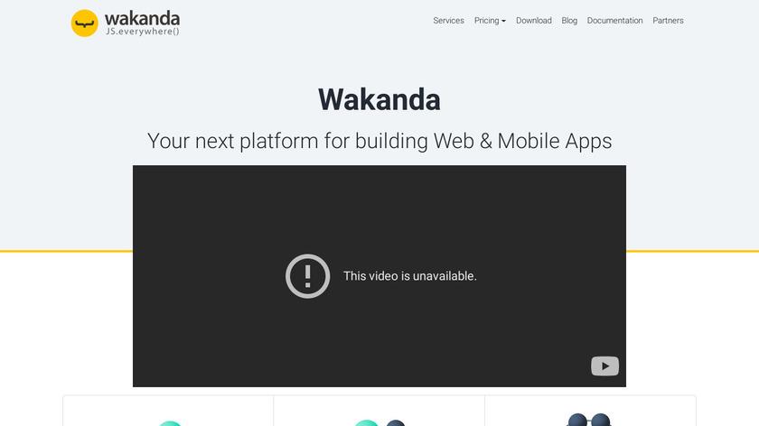 Wakanda Landing Page