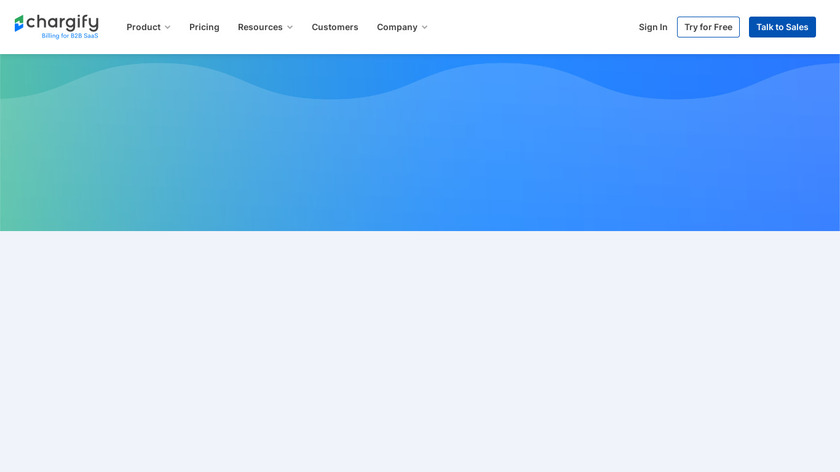 Chargify Landing Page