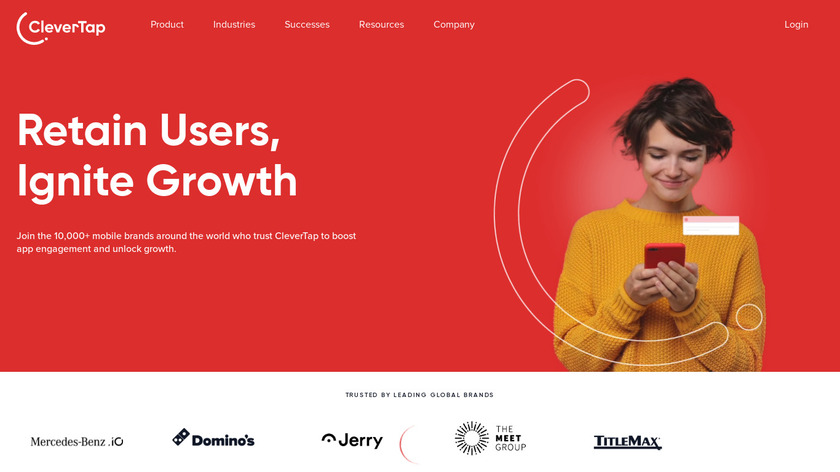 CleverTap Landing Page
