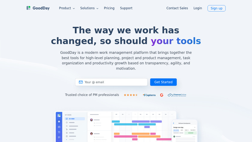 GoodDay Landing Page