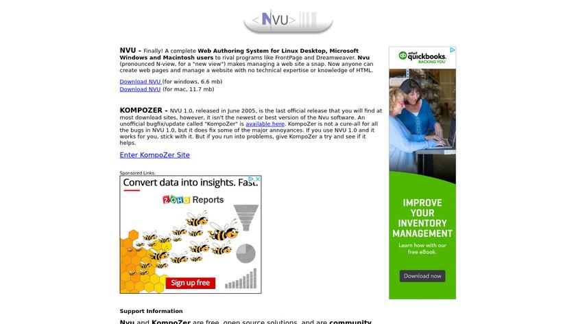Atom Vs Nvu Differences Reviews Saashub