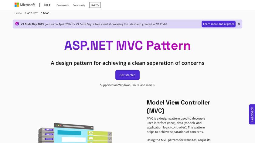 ASP.NET MVC Landing Page
