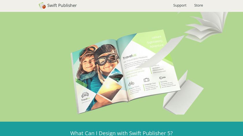 Swift Publisher Landing Page