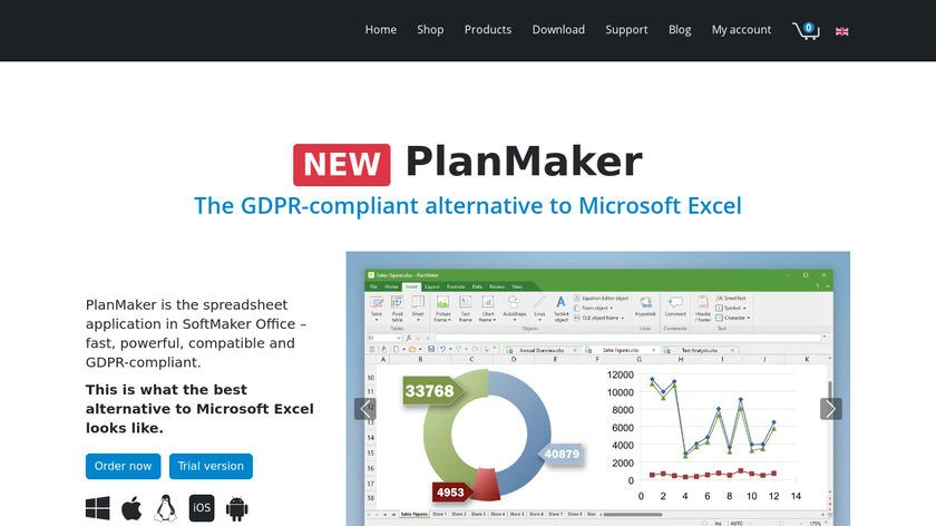 PlanMaker Landing Page