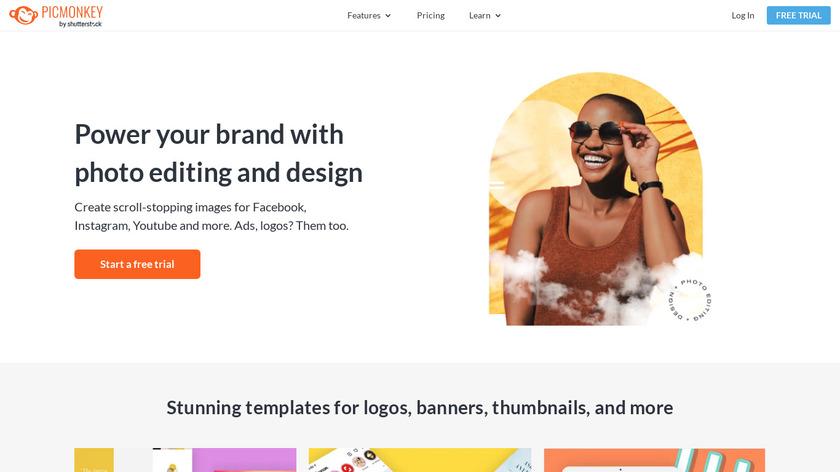 PicMonkey Landing Page