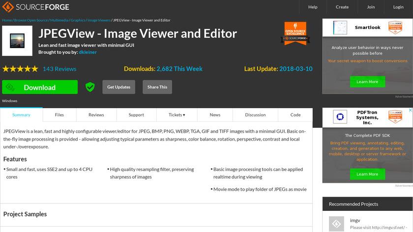 JPEGView Landing Page