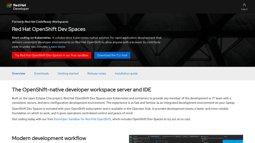 Codenvy Landing Page