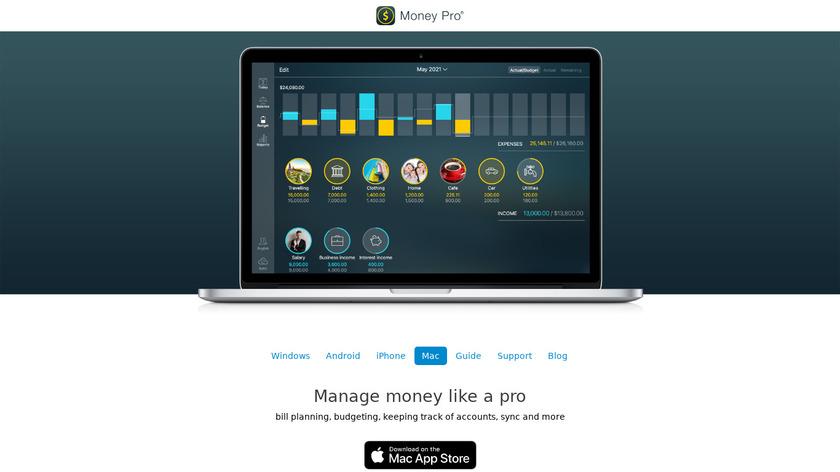 Money Pro Landing Page