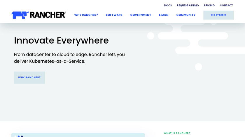 Rancher Landing Page