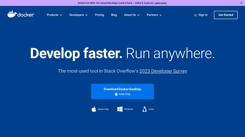 Docker Landing Page