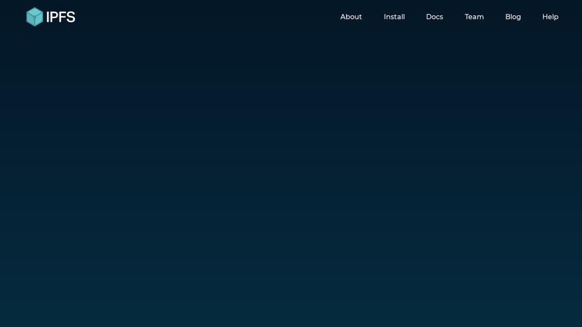 IPFS Landing Page
