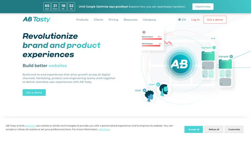 AB Tasty Landing Page