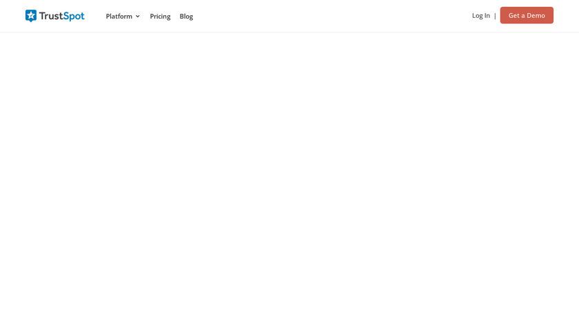TrustSpot Landing Page