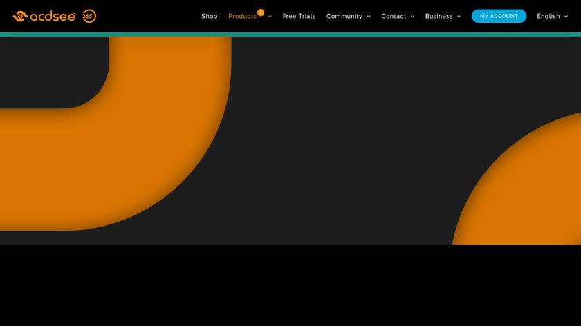 ACDSee Photo Studio Landing Page