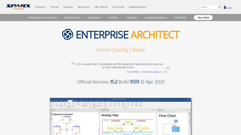 Enterprise Architect Landing Page