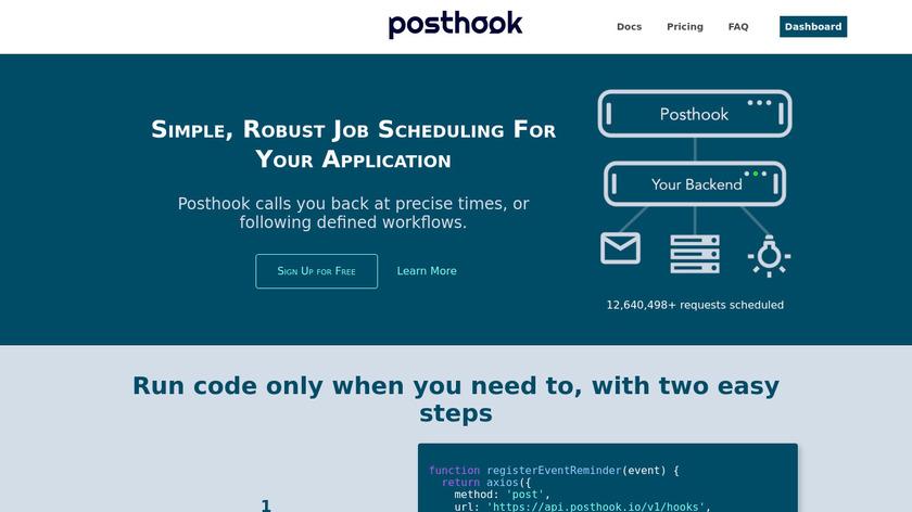 Posthook Landing Page