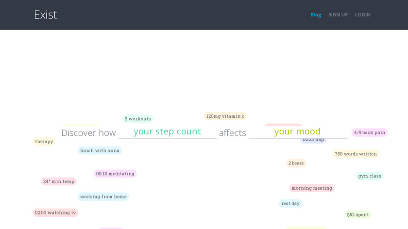 Exist Landing Page