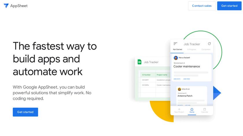 AppSheet Landing Page
