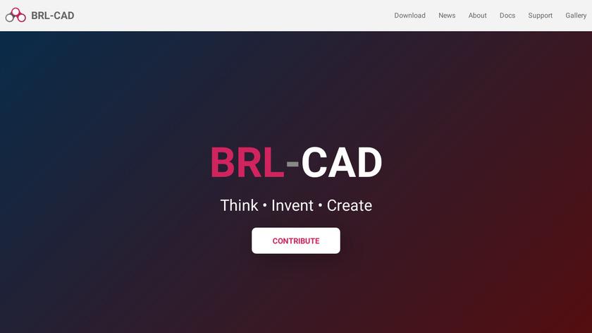 BRL-CAD Landing Page