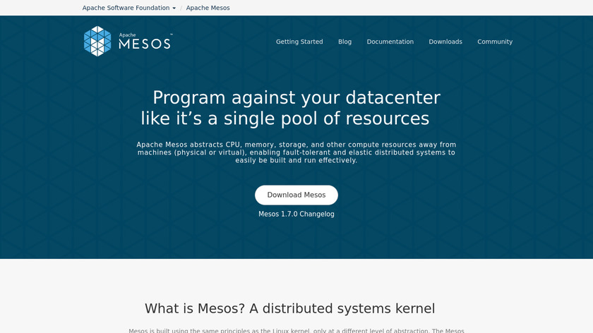 Mesos Containerizer Landing Page