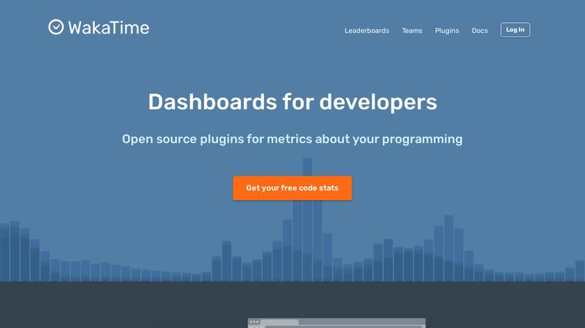 WakaTime Landing Page