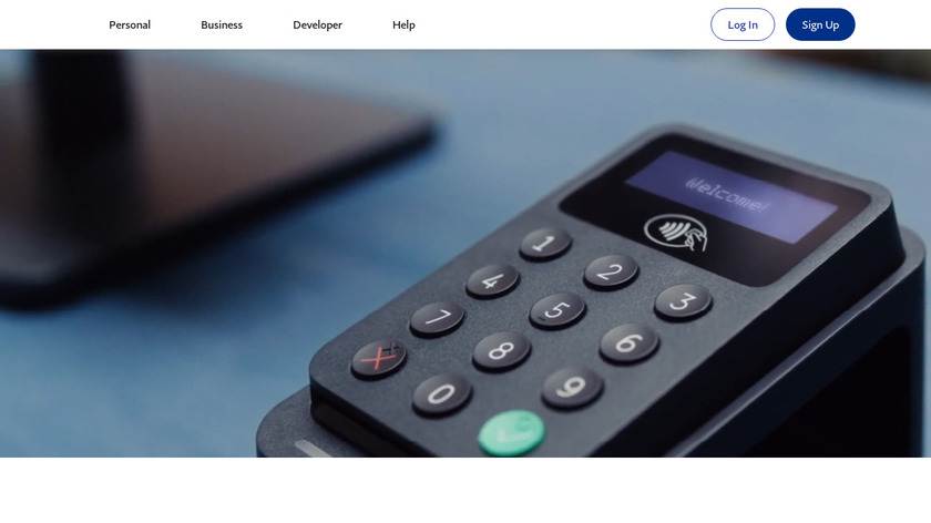 iZettle Landing Page