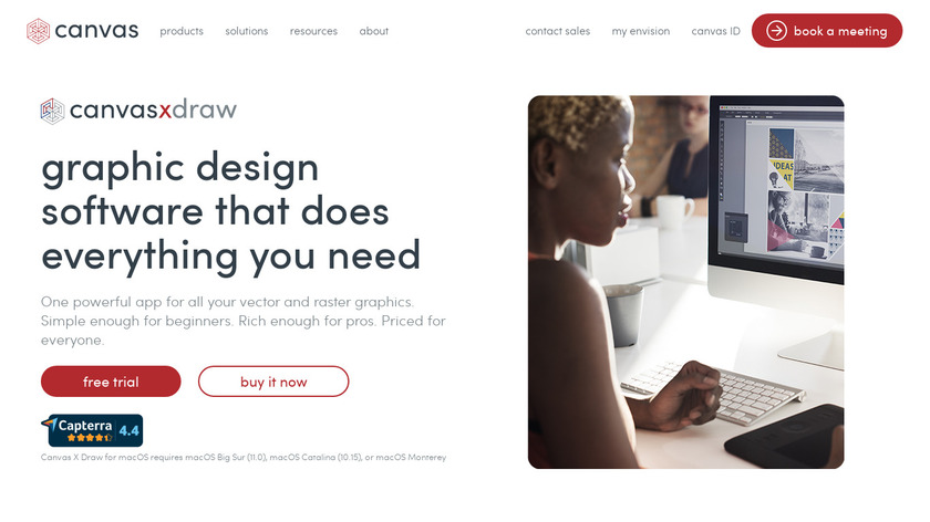 Canvas Landing Page