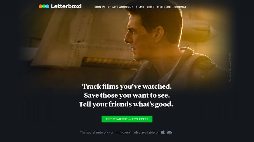 Letterboxd Landing Page