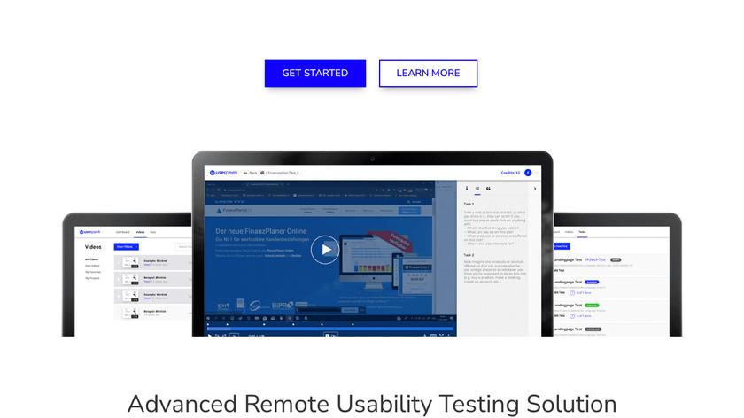 UsabilityTools Landing Page