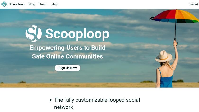 ScoopLoop Landing Page