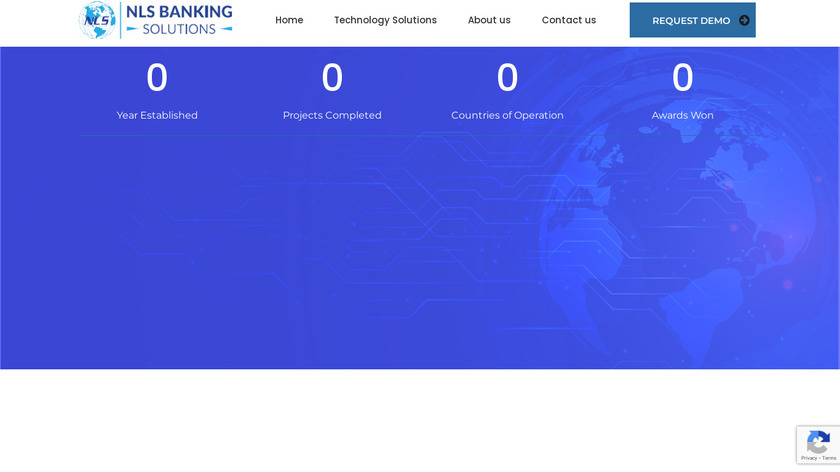 NLS Banking Solutions Landing Page