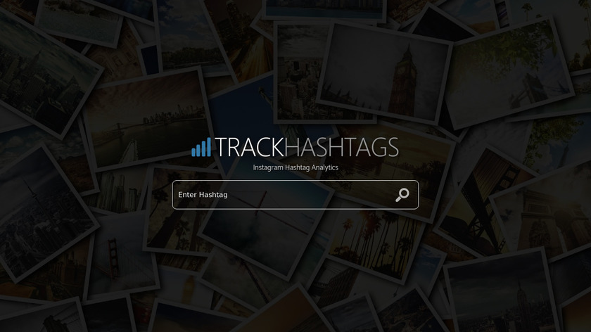 TrackHashtags.com Landing Page