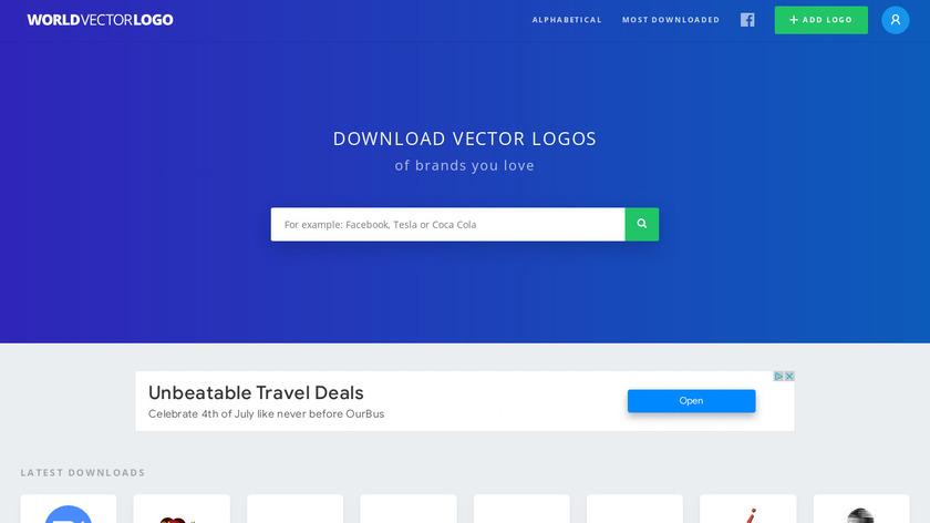 Worldvectorlogo Landing Page