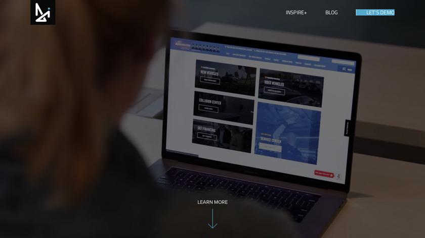 Dealer Inspire Landing Page