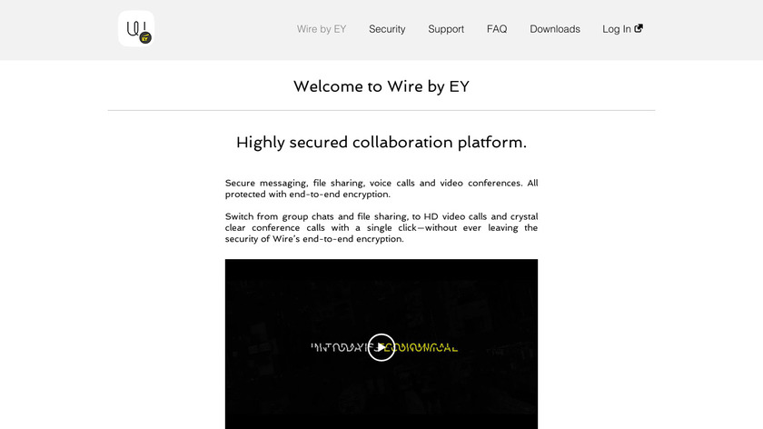 Wire by EY Landing Page